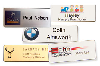 Name Badges with Logo